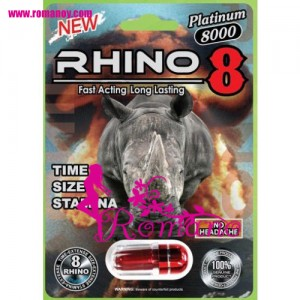 Rhino 8 8000 Male Enhancement Pills