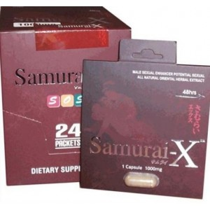 Samurai-X Penis Enlargement Pill