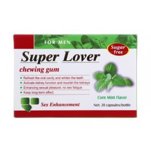 Super Lover Chewing Gum