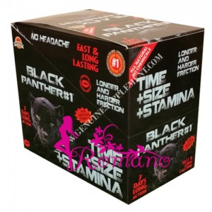 Triple Maximum Black Panther Male Enhancement Pill