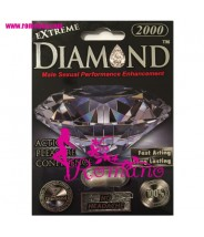 Diamond Platinum Black Extreme Male Sexual Performance Enhancement Pills