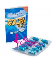 Golden Root Complex blue capsule