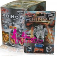 Rhino 7 Platinum 3000 Pills