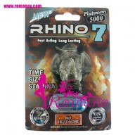 Rhino 7 Platinum 5000 Male Sexual Enhancement Pill